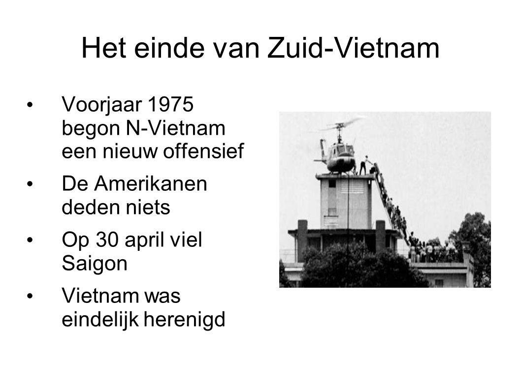 Het einde van Zuid-Vietnam