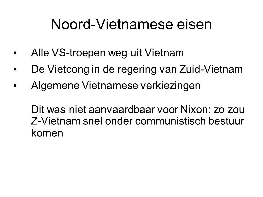 Noord-Vietnamese eisen