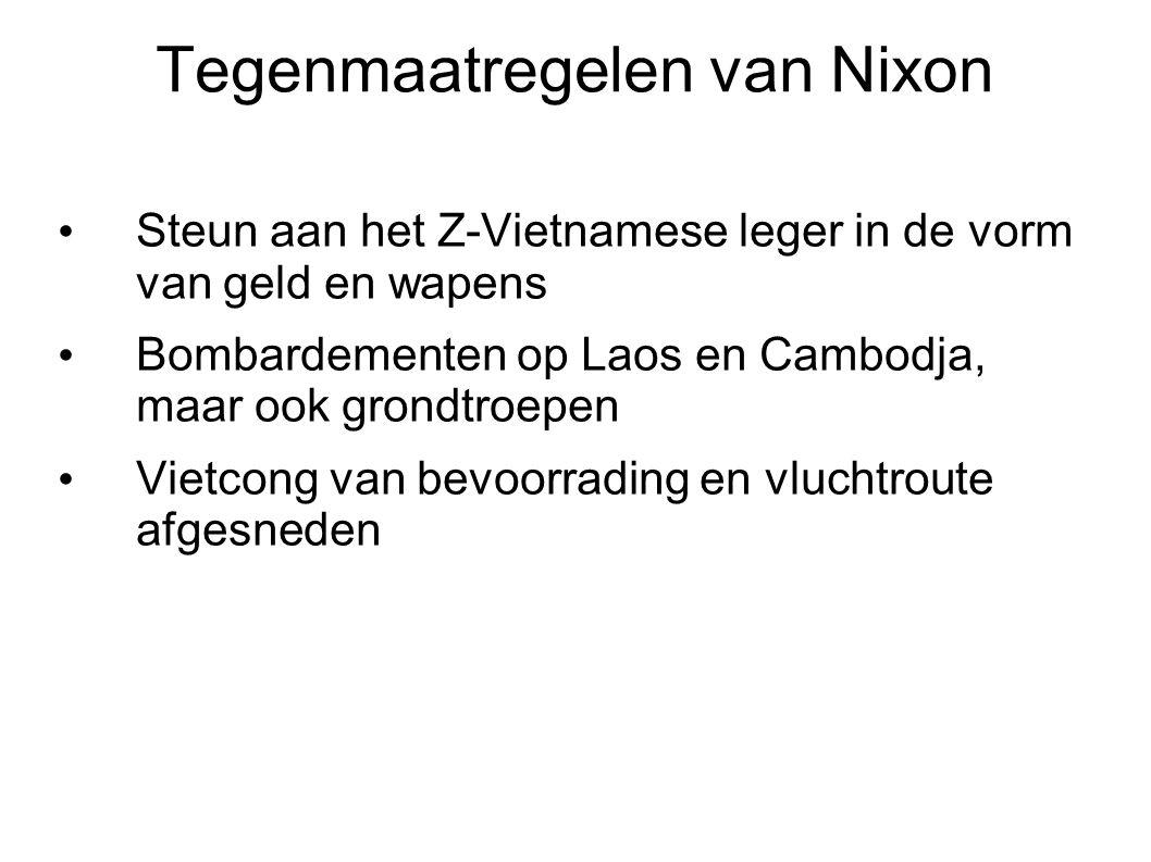 Tegenmaatregelen van Nixon