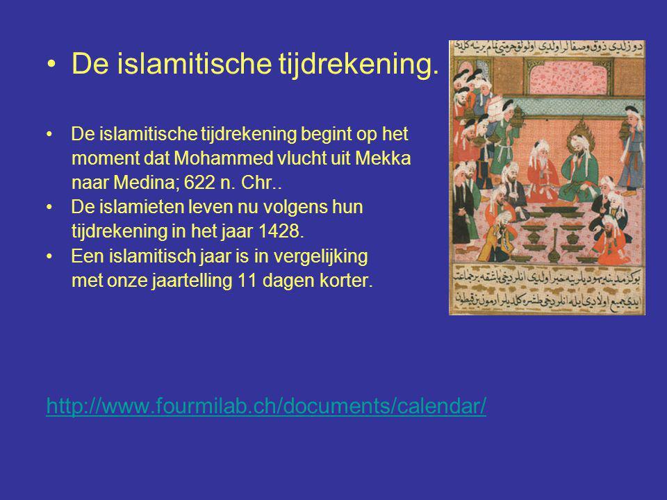De islamitische tijdrekening.