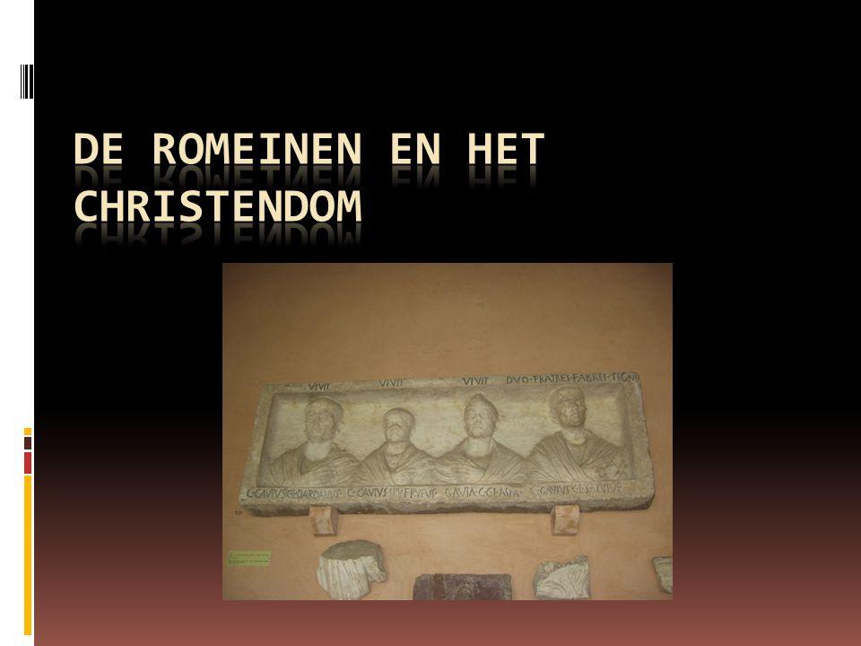 De Romeinen en het christendom