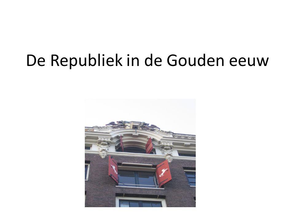 De Republiek in de Gouden eeuw