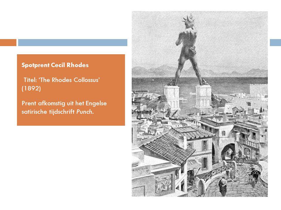 Spotprent Cecil Rhodes