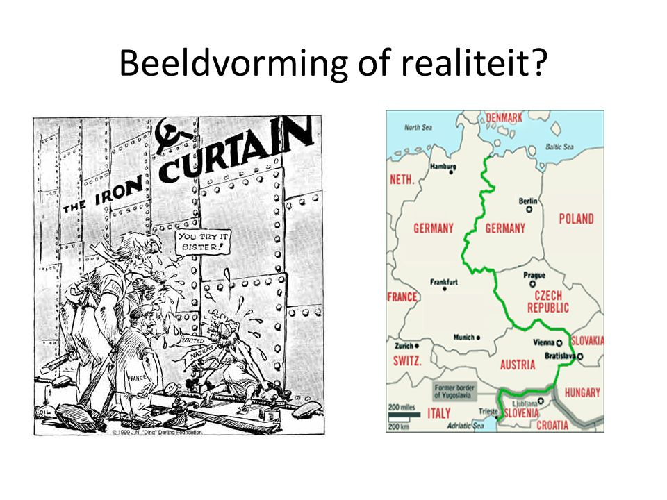 Beeldvorming of realiteit