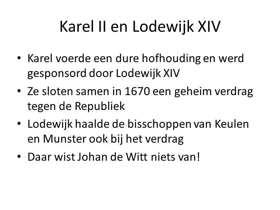 Karel II en Lodewijk XIV