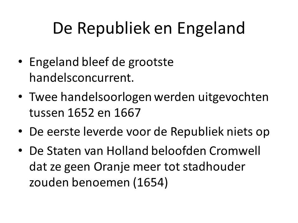 De Republiek en Engeland