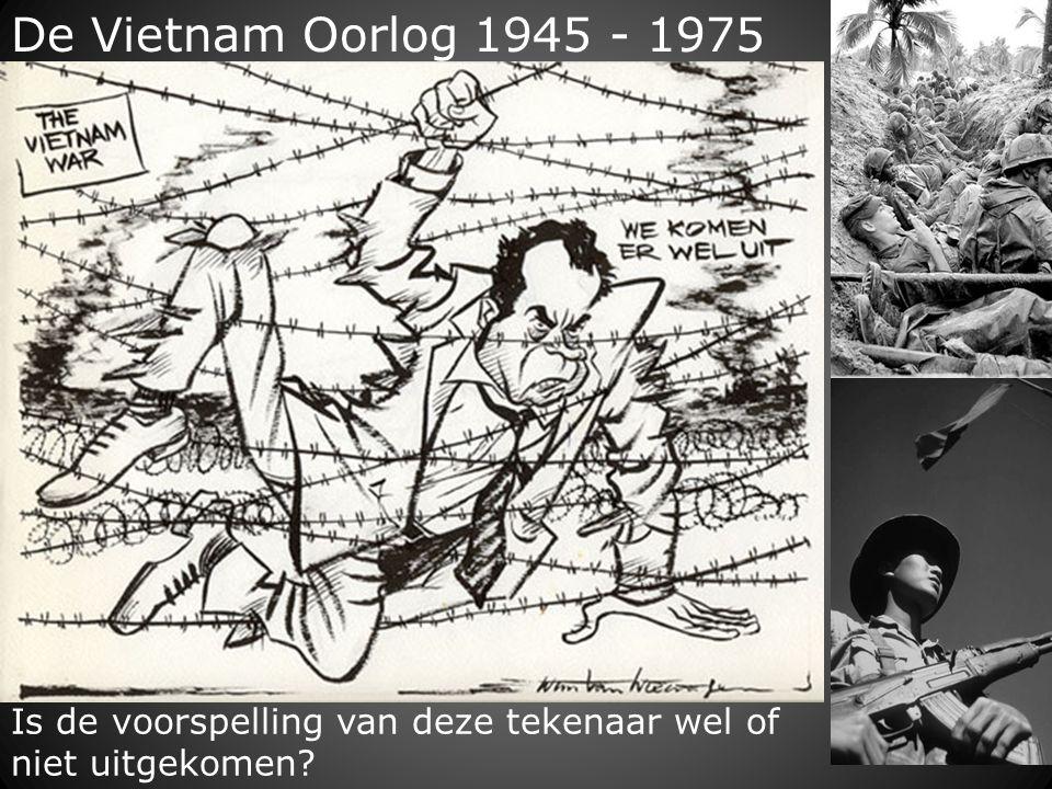 De Vietnam Oorlog 1945 - 1975 Is de voorspelling van deze tekenaar wel of niet uitgekomen