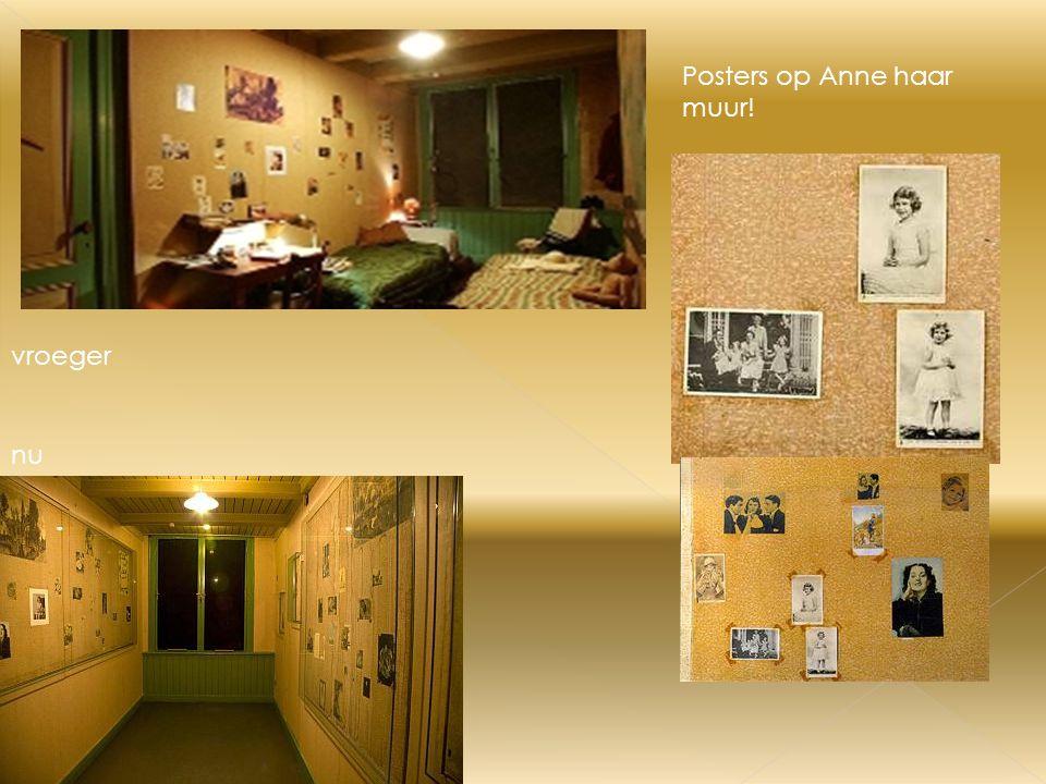 Posters op Anne haar muur!