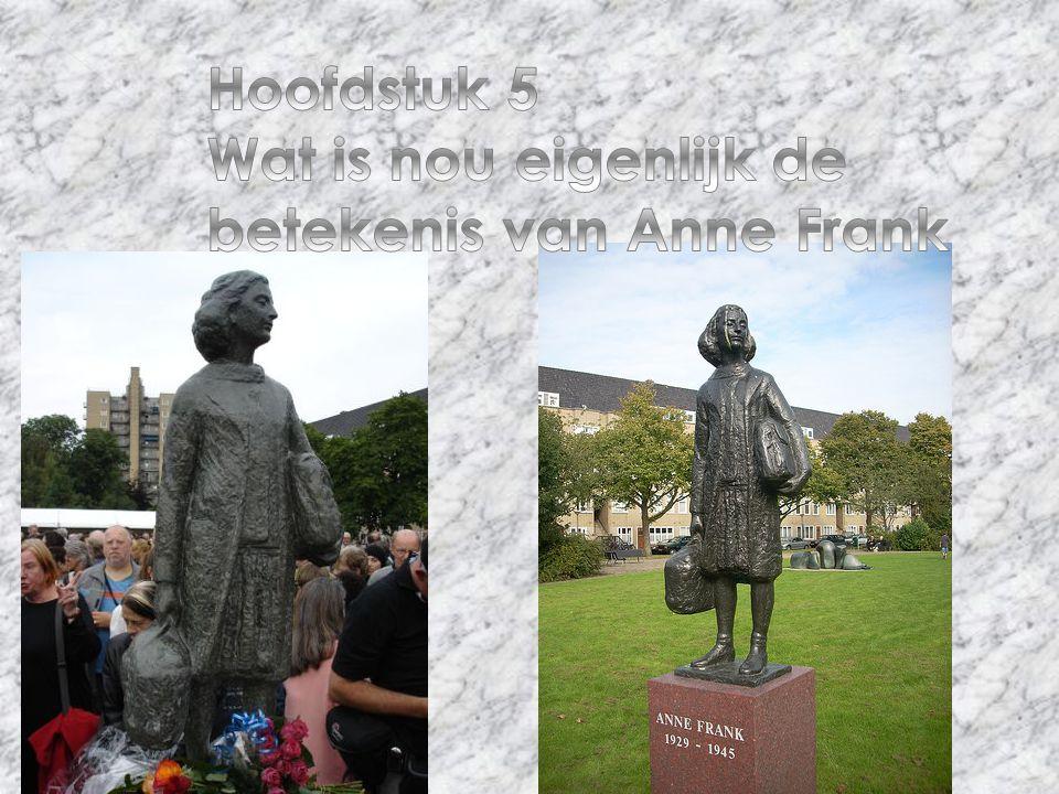 Hoofdstuk 5 Wat is nou eigenlijk de betekenis van Anne Frank