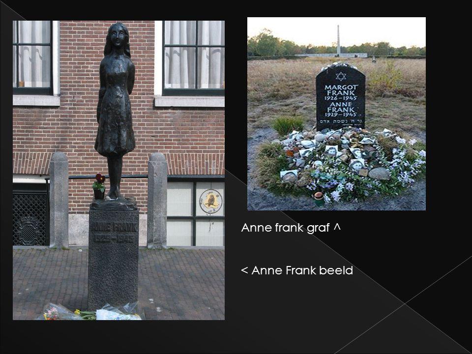 Anne frank graf ^ < Anne Frank beeld