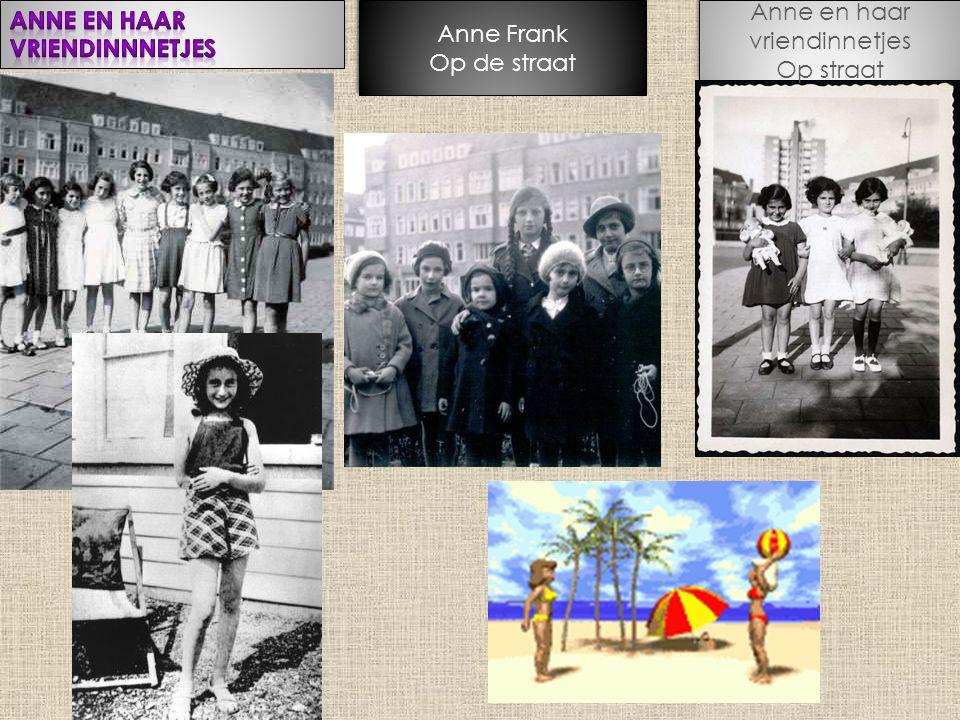 Anne en haar vriendinnetjes