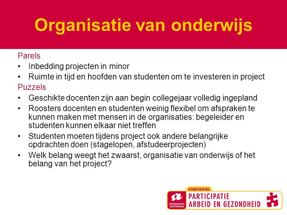 Organisatie van onderwijs