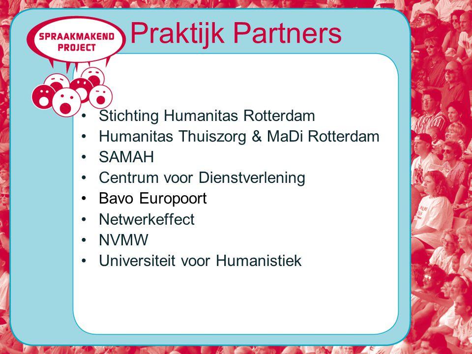 Praktijk Partners Stichting Humanitas Rotterdam