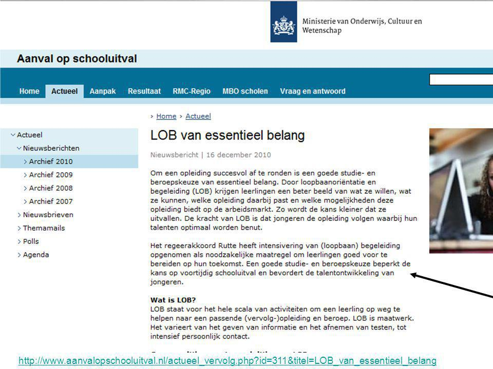 http://www. aanvalopschooluitval. nl/actueel_vervolg. php