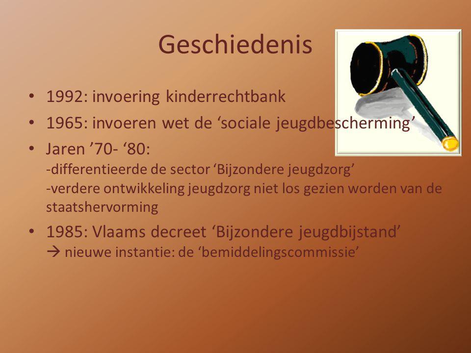 Geschiedenis 1992: invoering kinderrechtbank