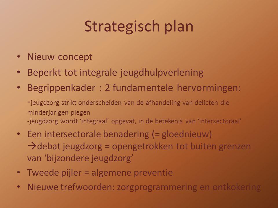 Strategisch plan Nieuw concept