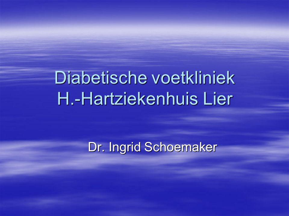 Diabetische voetkliniek H.-Hartziekenhuis Lier