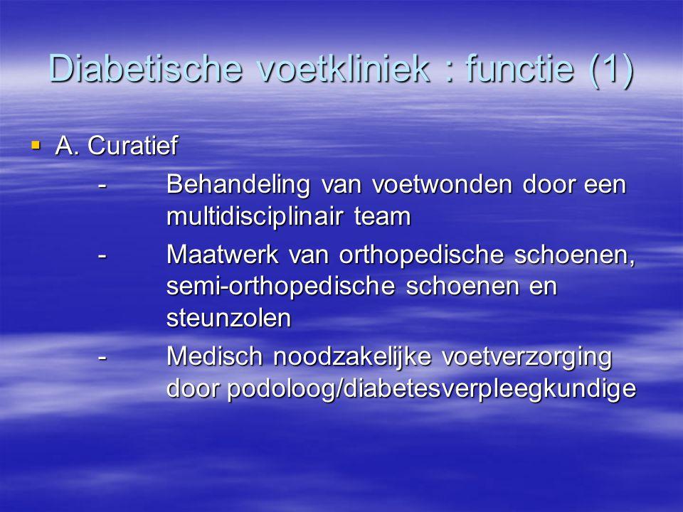 Diabetische voetkliniek : functie (1)