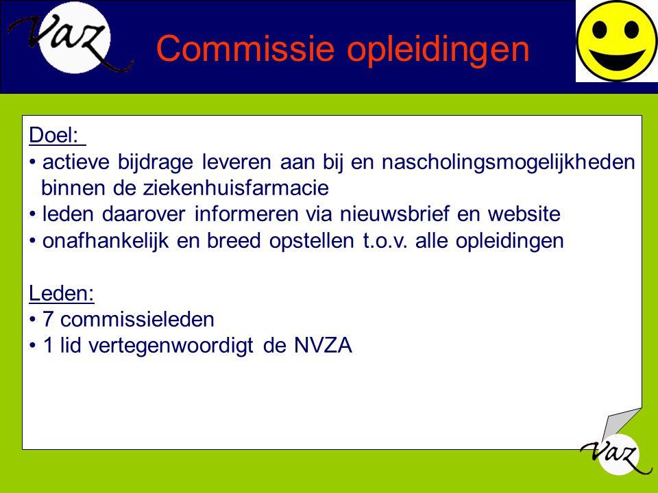 Commissie opleidingen