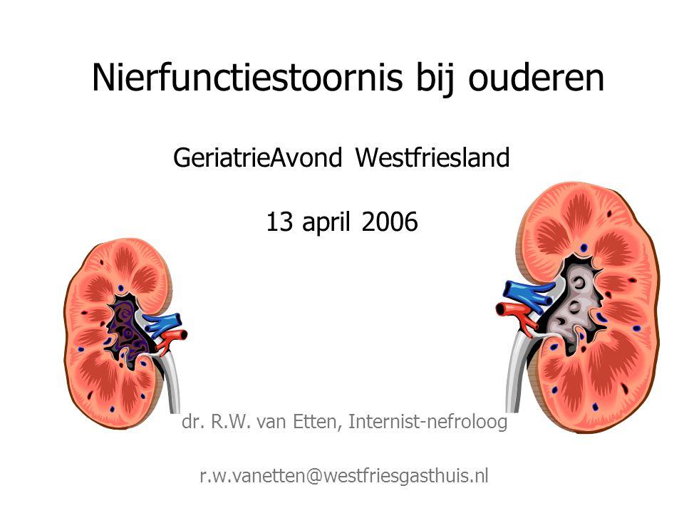 dr. R.W. van Etten, Internist-nefroloog
