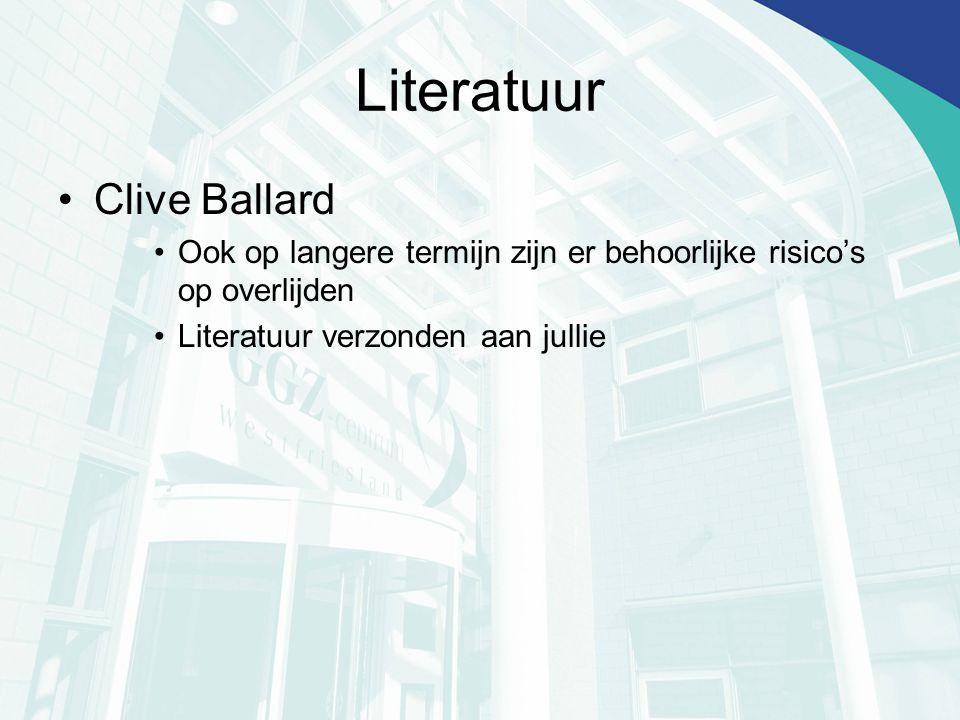 Literatuur Clive Ballard