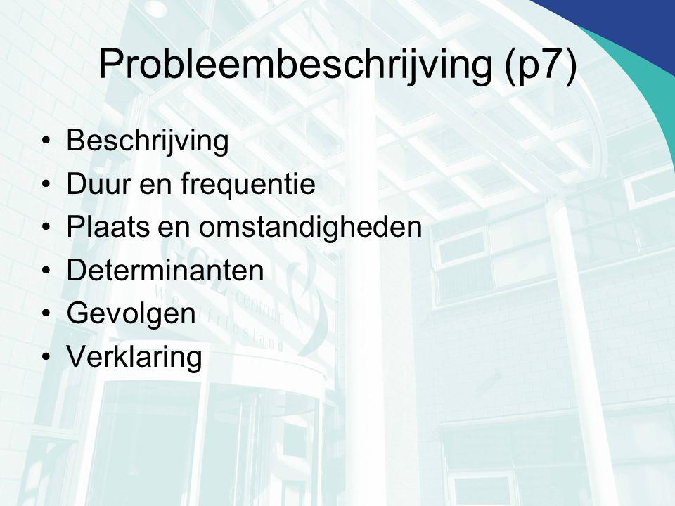 Probleembeschrijving (p7)