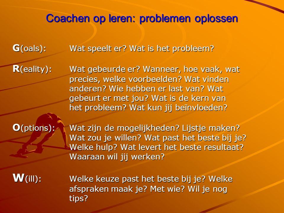 Coachen op leren: problemen oplossen