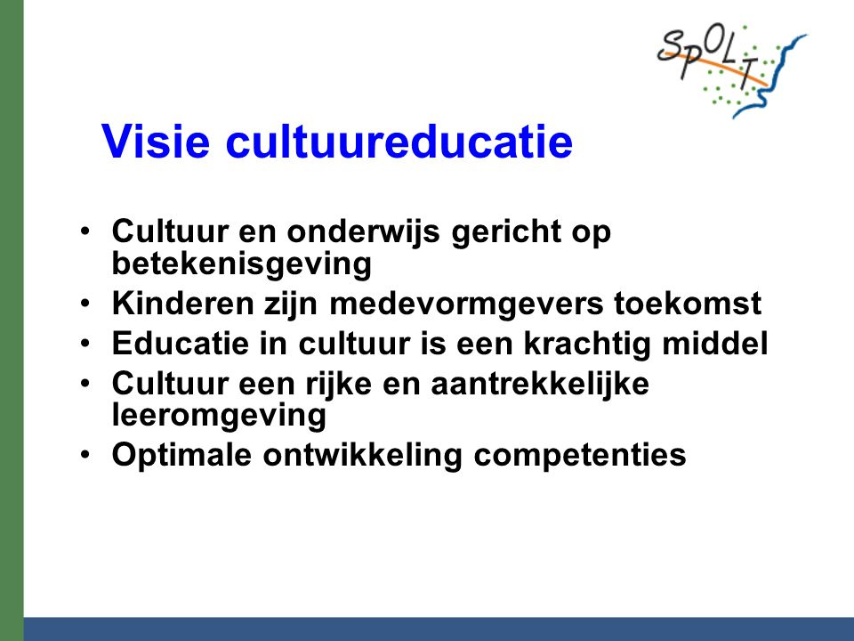 Visie cultuureducatie