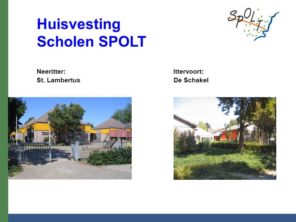Huisvesting Scholen SPOLT