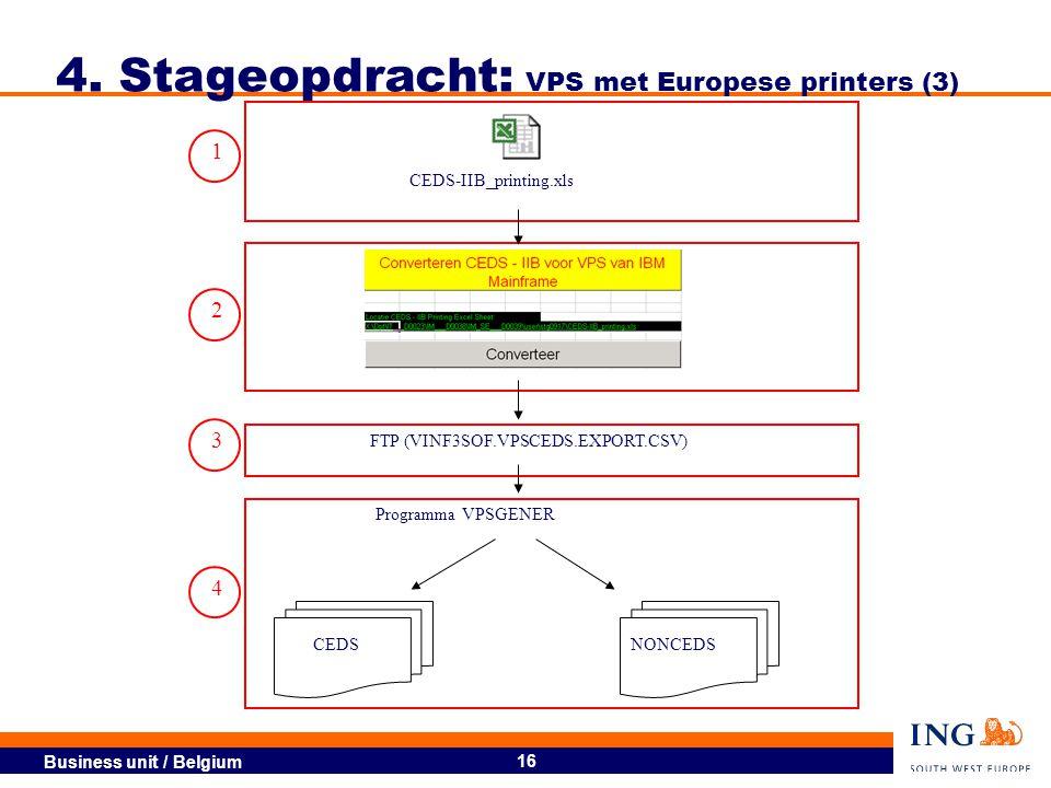 4. Stageopdracht: VPS met Europese printers (3)