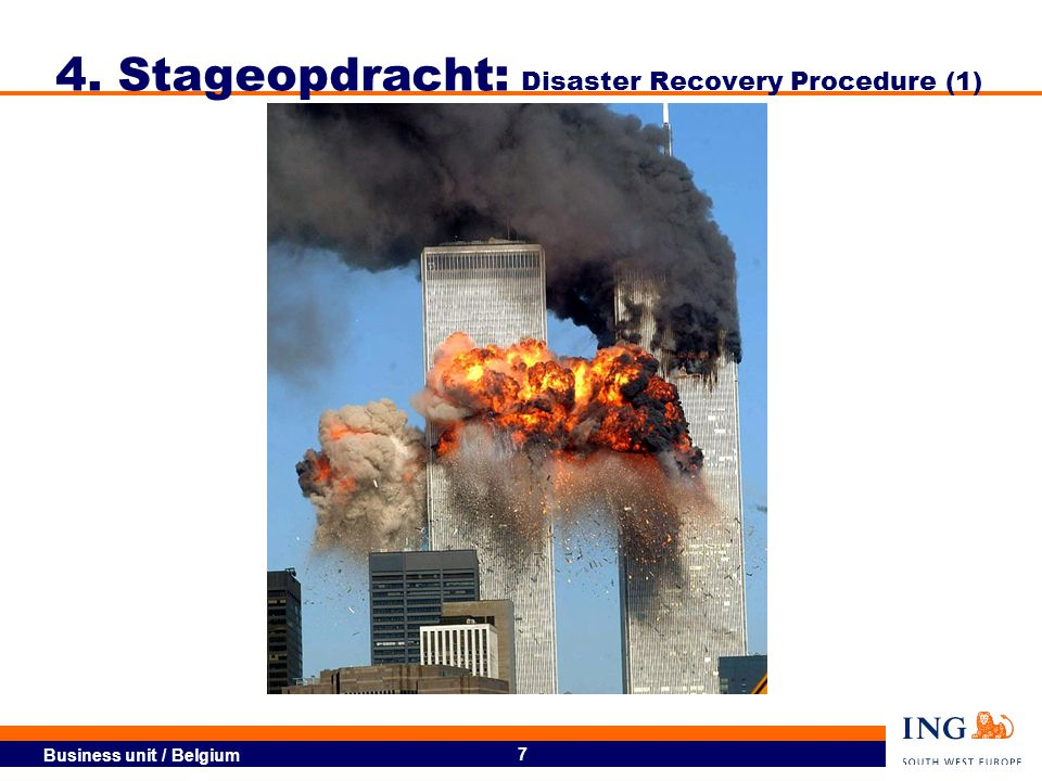 4. Stageopdracht: Disaster Recovery Procedure (1)