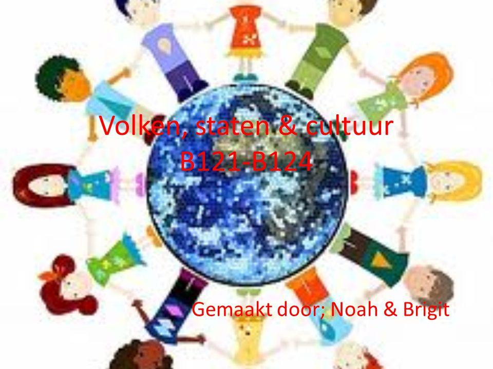 Volken, staten & cultuur B121-B124