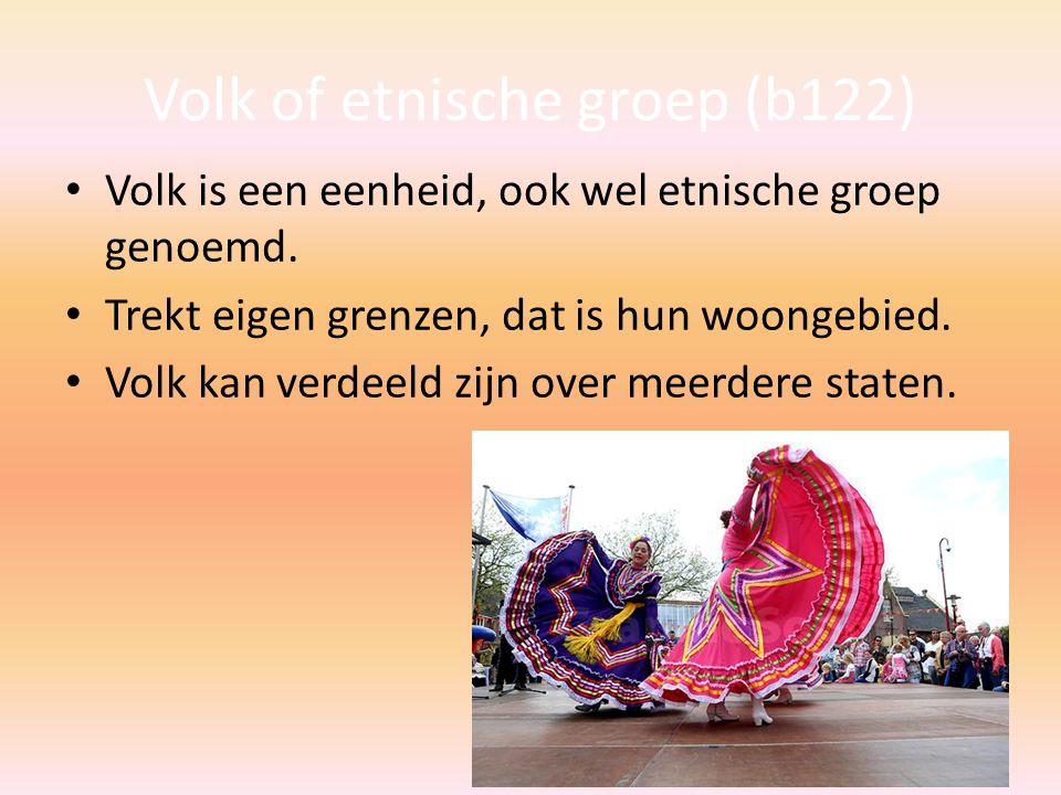 Volk of etnische groep (b122)