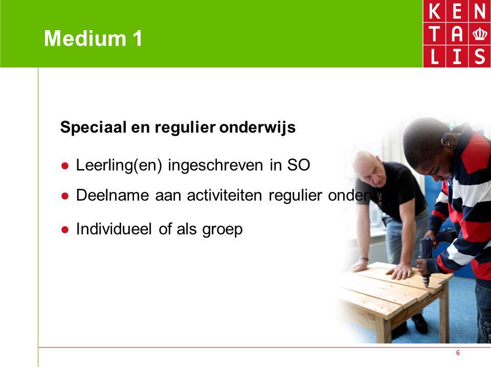 Medium 1 Speciaal en regulier onderwijs