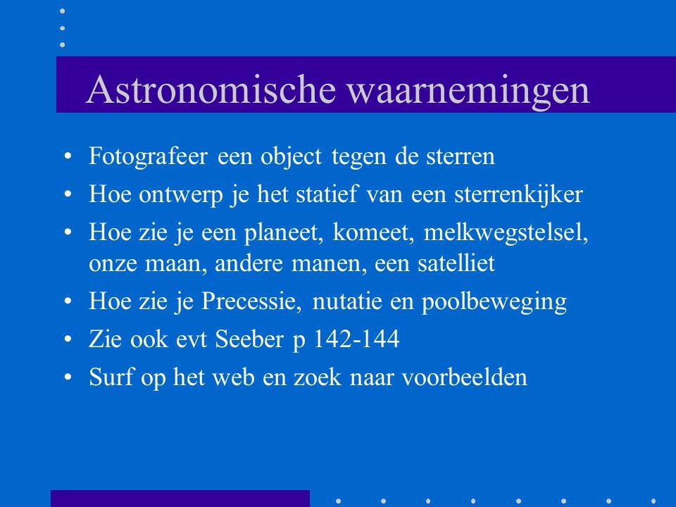 Astronomische waarnemingen