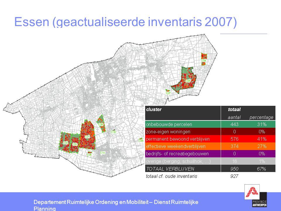 Essen (geactualiseerde inventaris 2007)