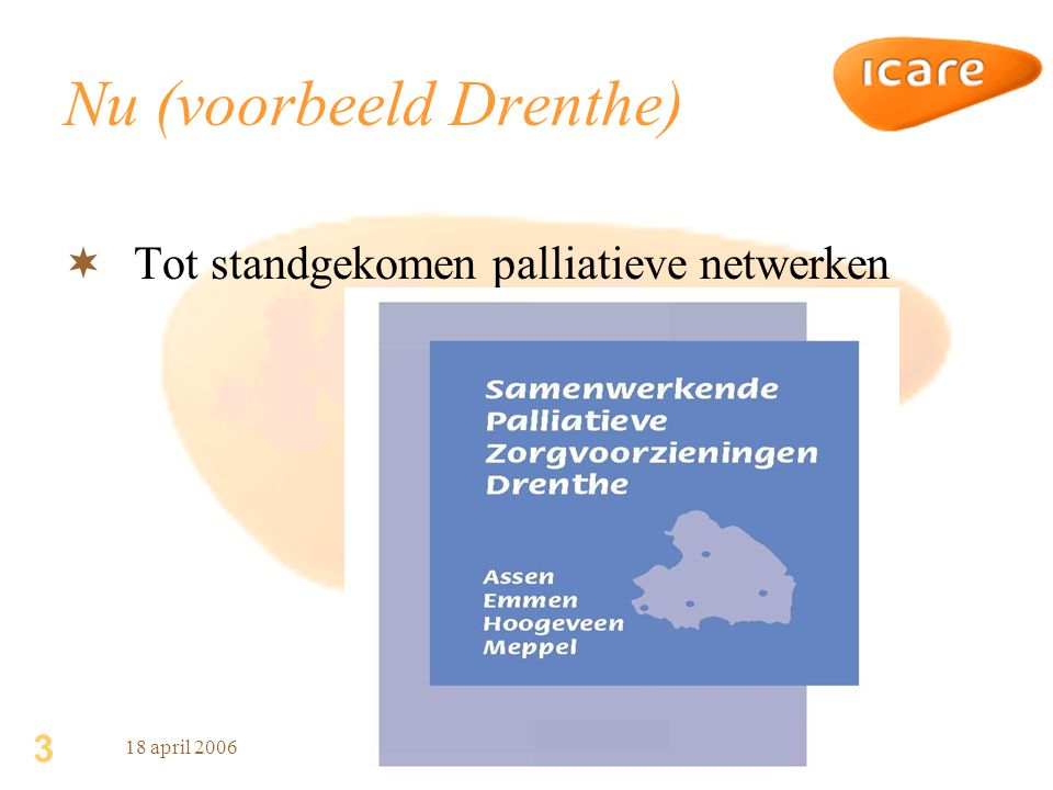 Nu (voorbeeld Drenthe)