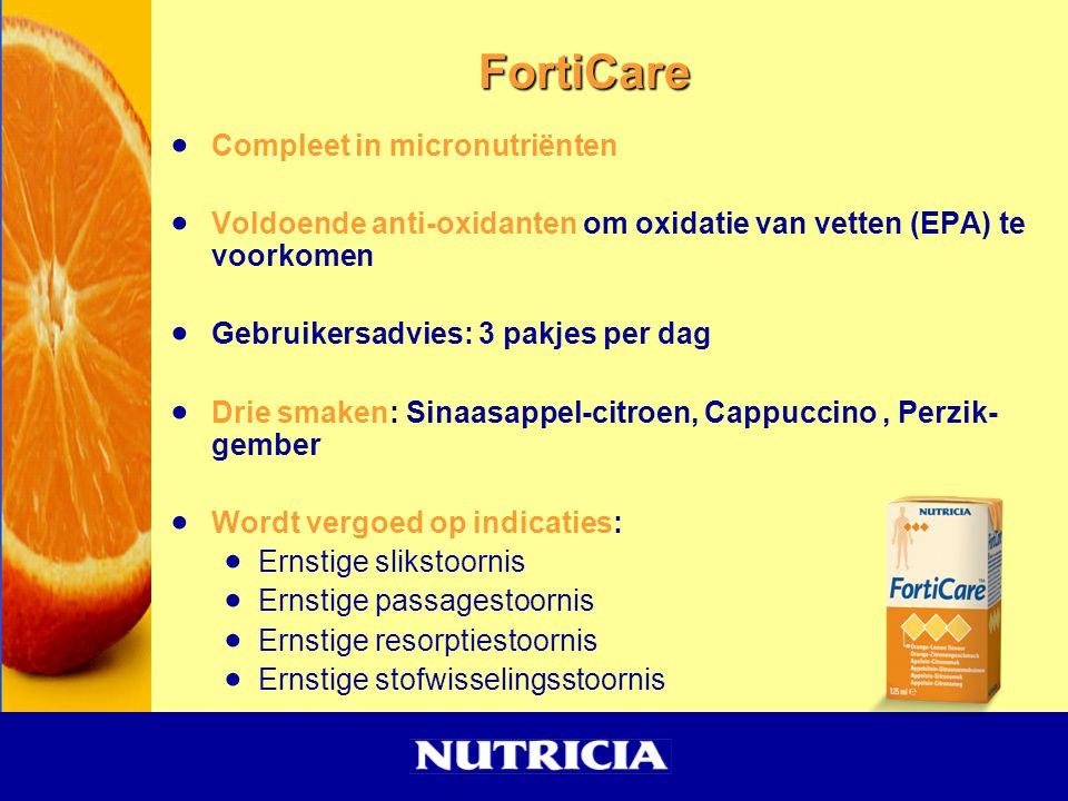 FortiCare Compleet in micronutriënten