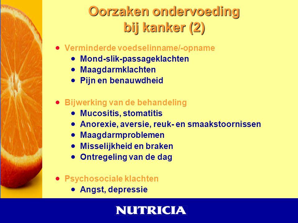 Oorzaken ondervoeding bij kanker (2)