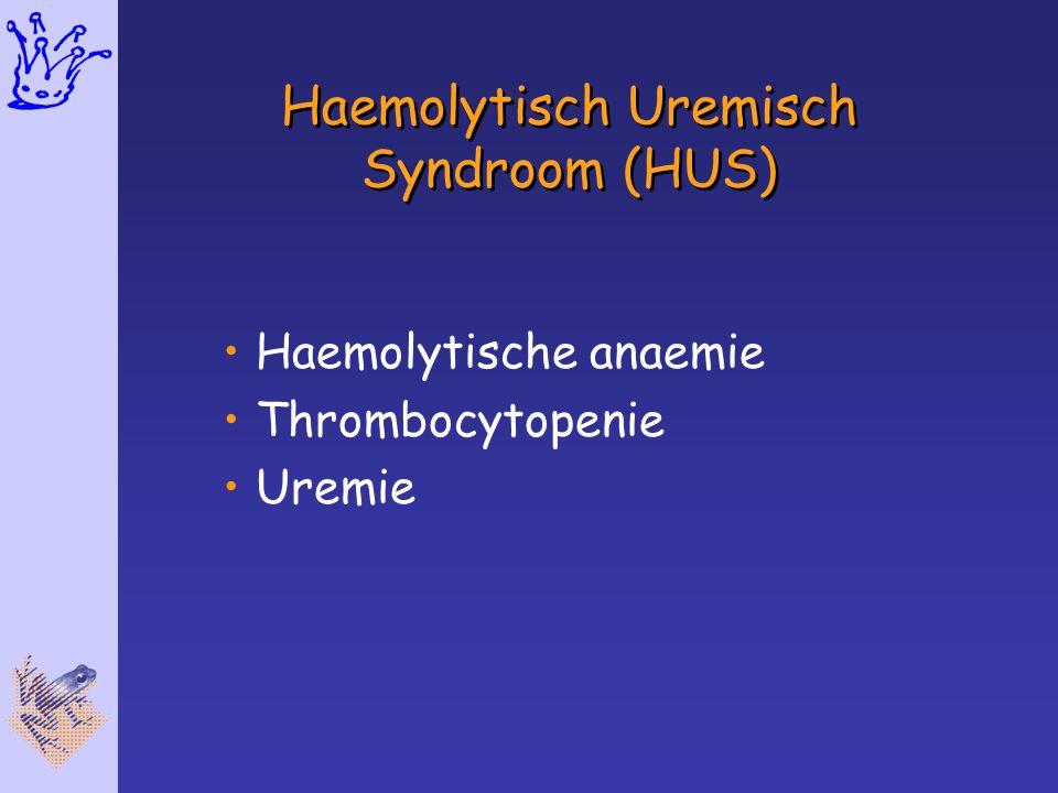 Haemolytisch Uremisch Syndroom (HUS)