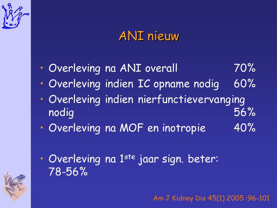 ANI nieuw Overleving na ANI overall 70%