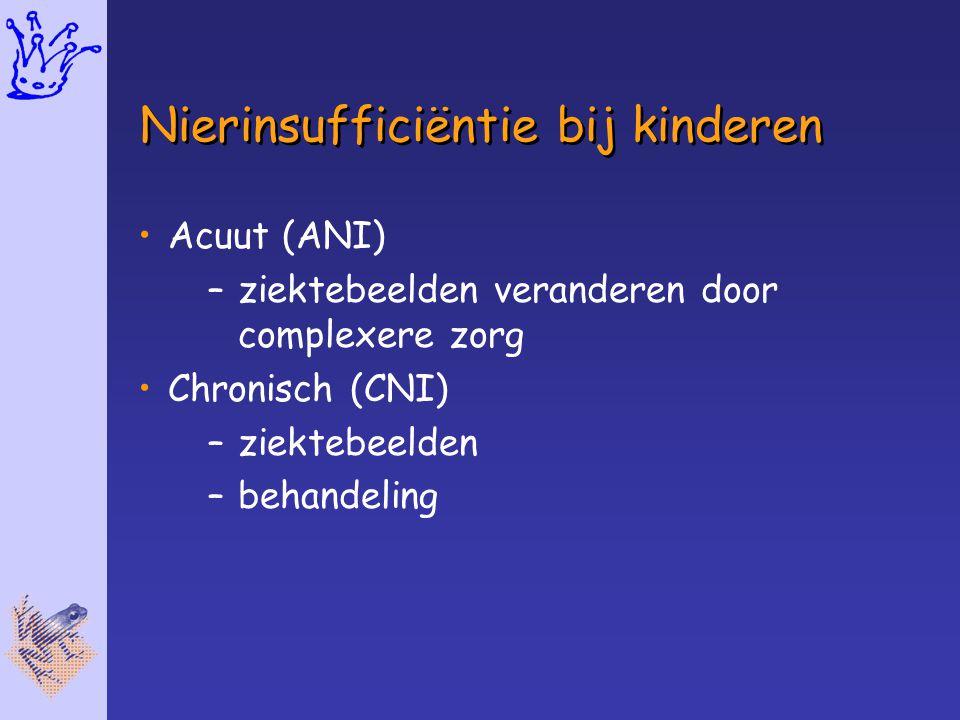 Nierinsufficiëntie bij kinderen
