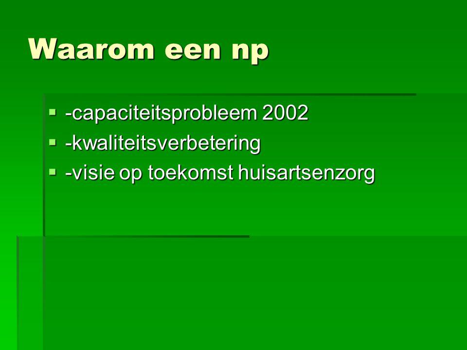 Waarom een np -capaciteitsprobleem 2002 -kwaliteitsverbetering