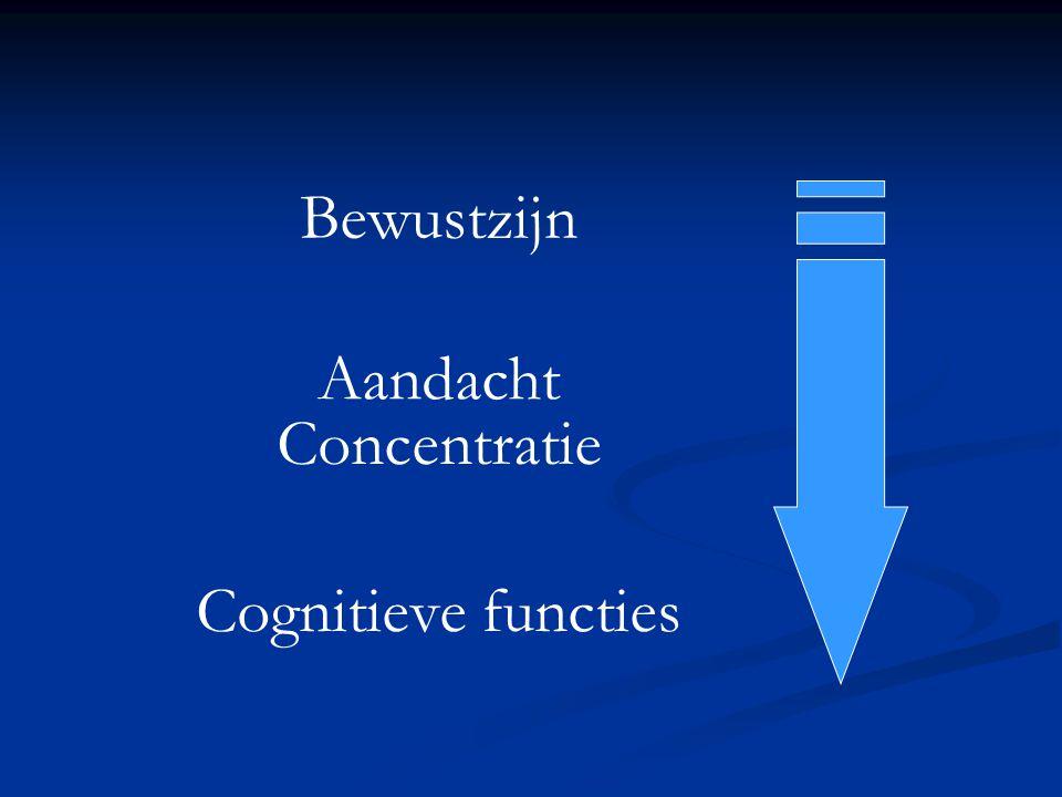 Bewustzijn Aandacht Concentratie Cognitieve functies