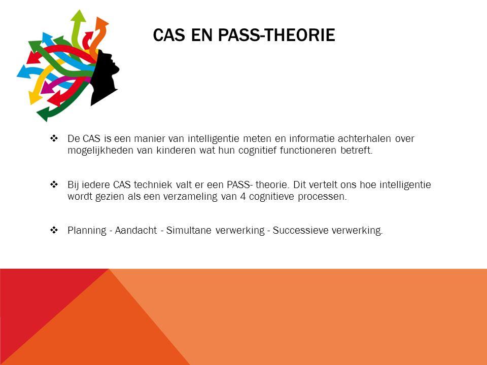 CAS en PASS-theorie