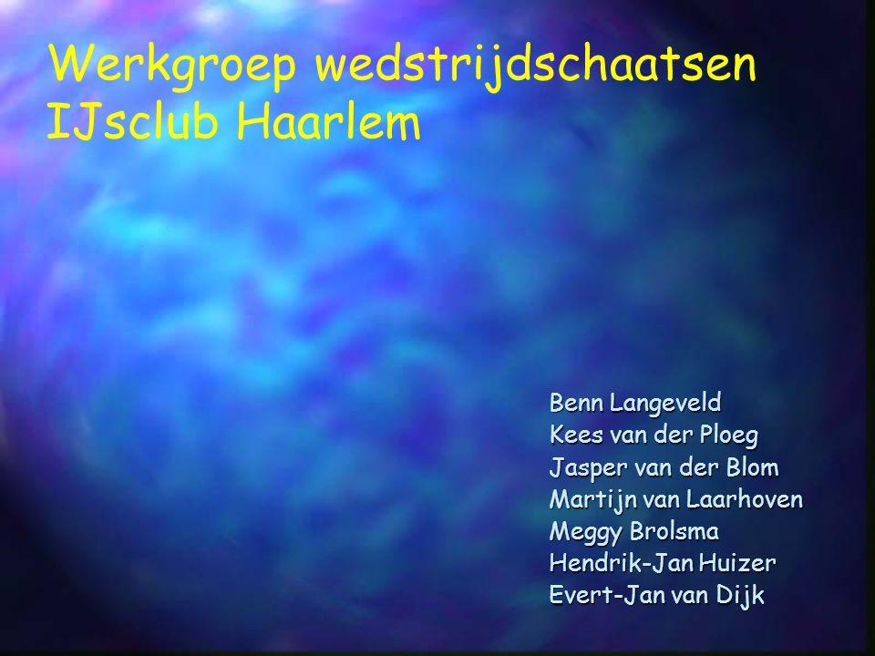 Werkgroep wedstrijdschaatsen IJsclub Haarlem