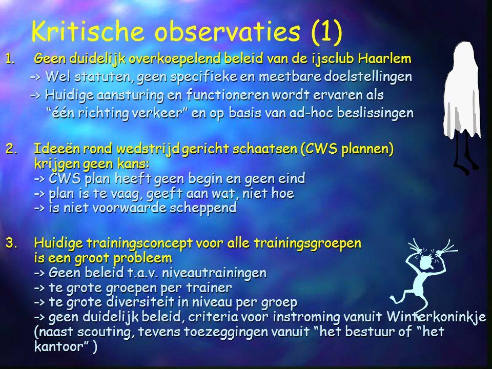 Kritische observaties (1)