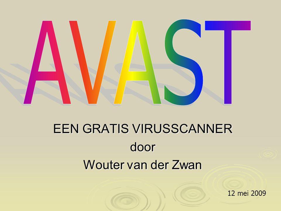 EEN GRATIS VIRUSSCANNER door Wouter van der Zwan