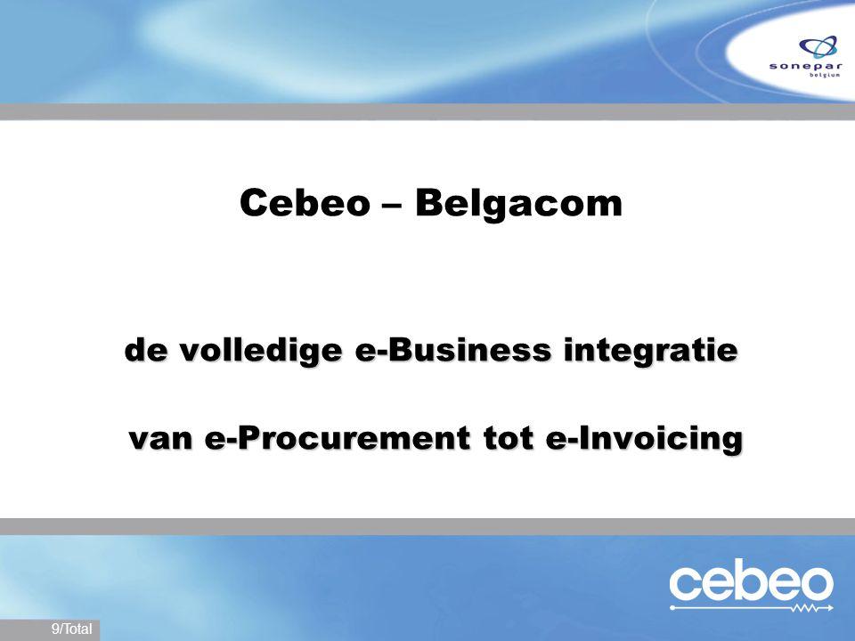 Cebeo – Belgacom de volledige e-Business integratie