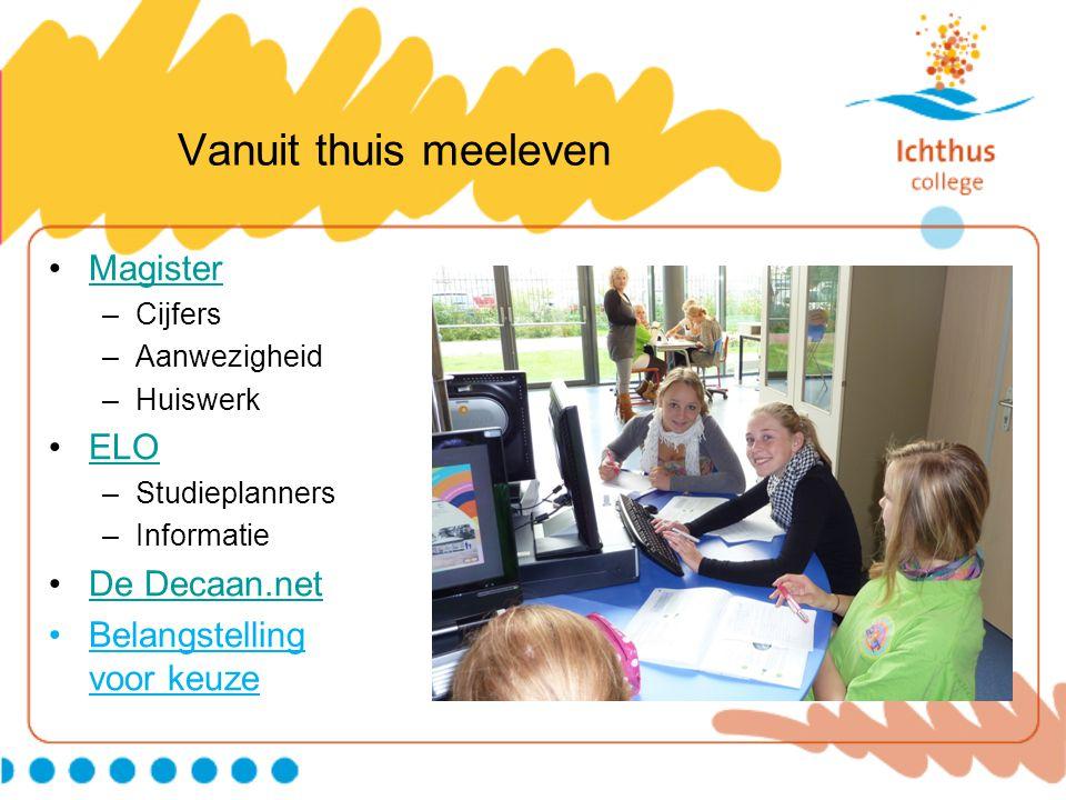 Vanuit thuis meeleven Magister ELO De Decaan.net
